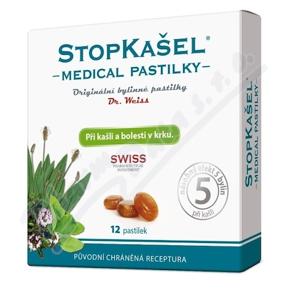 Dr.Weiss Stopkašel Medical