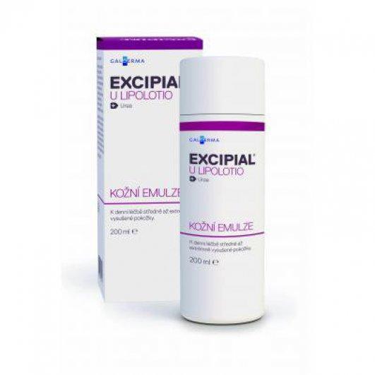 EXCIPIAL U LIPOLOTIO 40MG/ML DRM EML 200ML