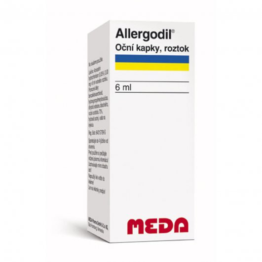 ALLERGODIL OČNÍ KAPKY 0,5MG/ML OPH GTT SOL 6ML