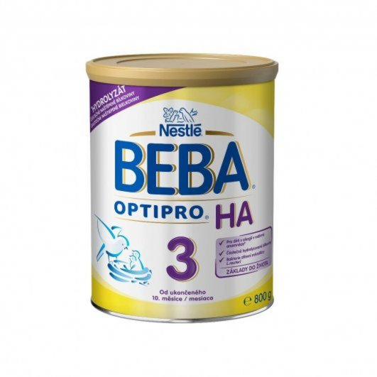 NESTLÉ Beba OPTIPRO HA 3 800g
