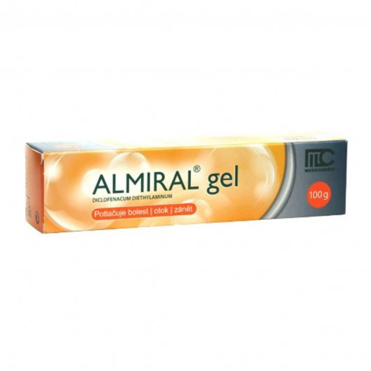 ALMIRAL 10MG/G GEL 100G