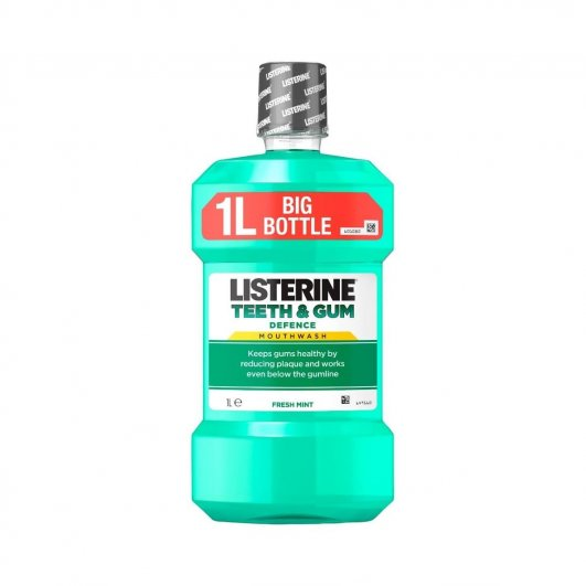 Listerine Teeth & Gum Defence 1l