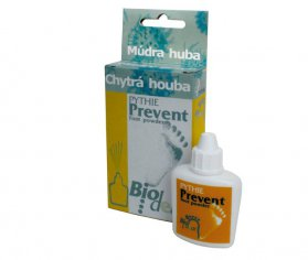 Chytrá houba Pythie Biodeur Prevent Foot Powder