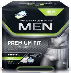 Tena Men Premium Fit Protective Underwear Level4 L