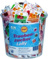 Traubenzucker Lolly