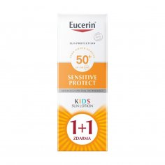 Eucerin Sun Kids Sensitive Protect Lotion SPF50+ 1+1 zdarma