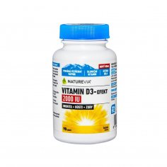Swiss NatureVia Vitamin D3-Efekt 2000 I.U.