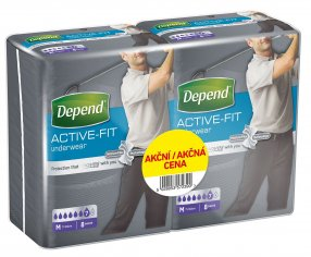 Depend Active-Fit pro Muže M Duopack