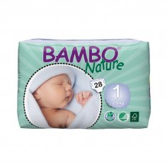 Bambo Nature New born 1 ( 2-4kg)