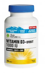 Swiss NatureVia Vitamin D3-Efekt 1000 I.U.