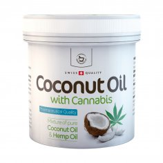 Coconut Oil with Cannabis