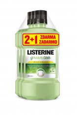 Listerine Green Tea 2+1 zdarma