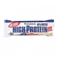 Weider, Low Carb High Protein, 50 g, Latte Macchia